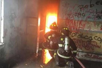 Primera Compañía en ejercicio para incendio estructural
